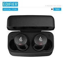Edifier tws5 bluetooth v5.0 tws fones de ouvido aptx decodificação áudio ipx5 controle toque à prova dwireless água bluetooth fone de ouvido sem fio
