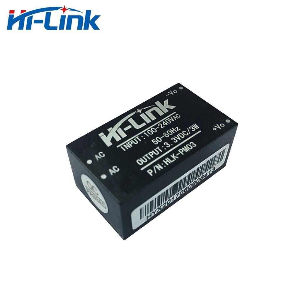 Free shipping 2pcs lot Hi link HLK PM03 AC DC 220V to 3 3V Step Down