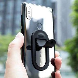 Image 4 - Novo youpin bcase silicone telefone móvel multi função suporte estável anti deslizamento suporte de saída do carro suporte de mesa do telefone móvel
