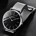 PAGANI Дизайн ультра тонкие кварцевые часы для мужчин женщин люксовый бренд водонепроницаемый Нержавеющая сталь Бизнес наручные часы для муж...