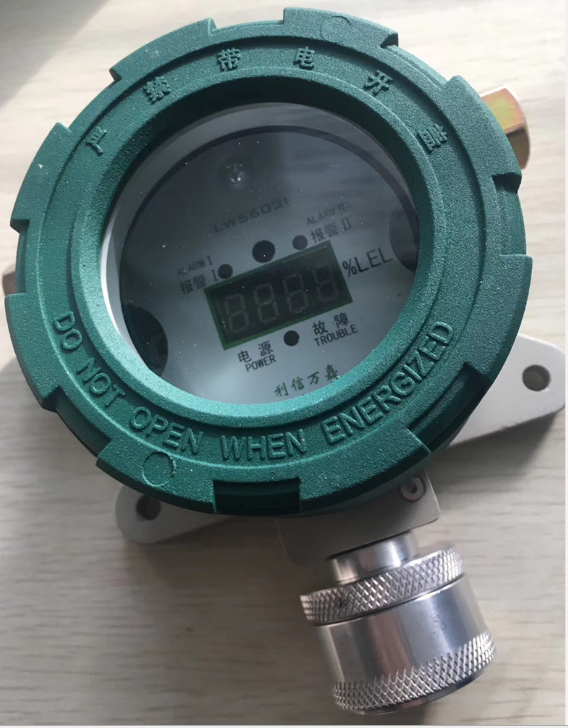 Explosion Proof Methane Gas Detector With Relay Output 4wire CH4 Gas Leak Sensor With LED Display For Industrial Use