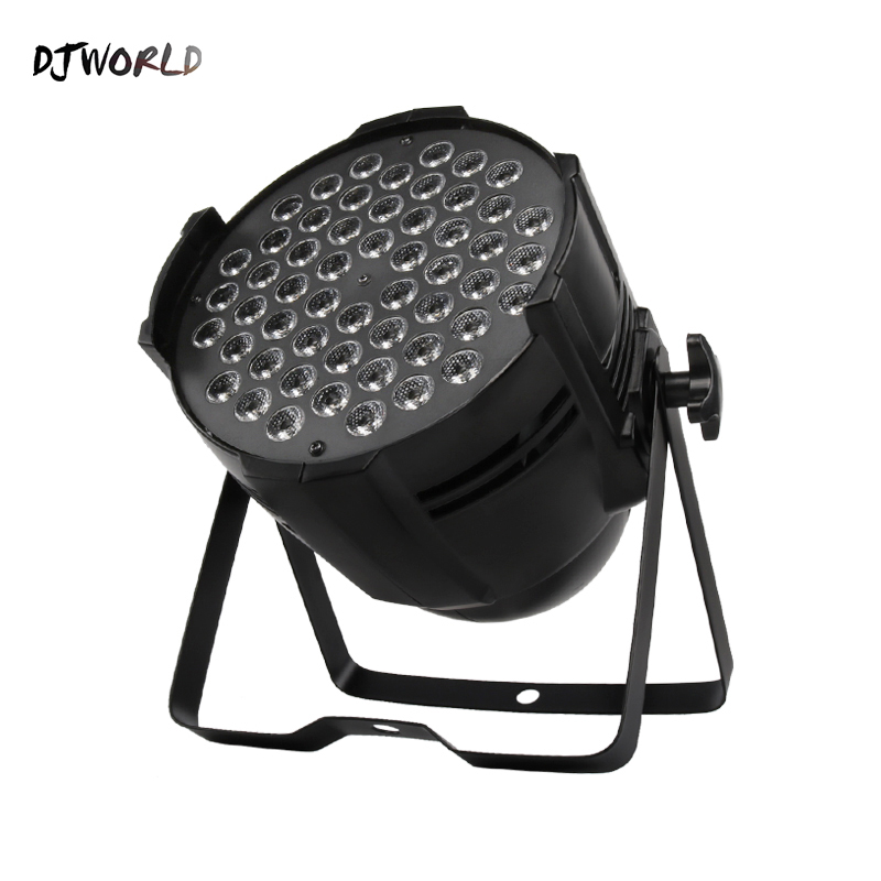 Djworld (Big) Aluminum Alloy LED Par 54x9W RGB Lighting Can Par LED For Dj Disco Decoration Party Wedding Bar Stage Party TV