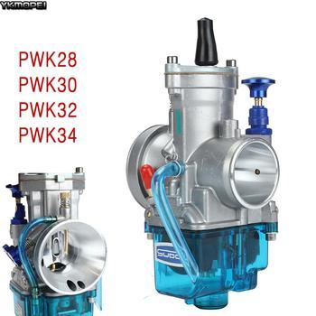 Carburador de motocicleta PWK, 2T/4T, 28 30 32 34 mm con Power Jet