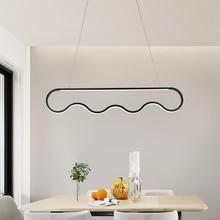 Simple Elegance LED Pendant Lamp Dining Room Hanging Light Modern Minimalist Restaurant Lights For Indoor Deco Lighting