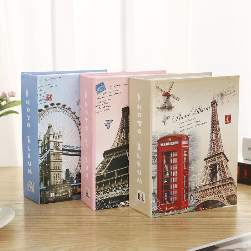 1PCS 100 Sheets Pictures Photo Album Scrapbook Wedding Kids Memory Book Gifts Kid Album Storage Family Wedding Memory Gift image