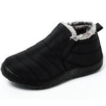 Зимняя мужская обувь мужские ботинки Теплые ботильоны на толстом