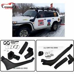 Citycarauto Gu Patrol Wagon Y61 Lldpe Eksterior Auto Bagian Asupan Udara Bagian Pipa Snorkel Cocok untuk Nissan Gu Patrol Wagon y61