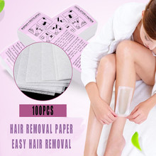 Thick Non-woven Hair Removal Paper White 100 Hair