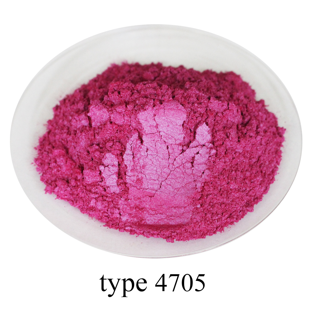 Type 4705 Pigment Pearl Powder Mineral Mica Dust DIY Dye Colorant For Soap Automotive Eye Shadow Art Crafts  50g Acrylic Paint