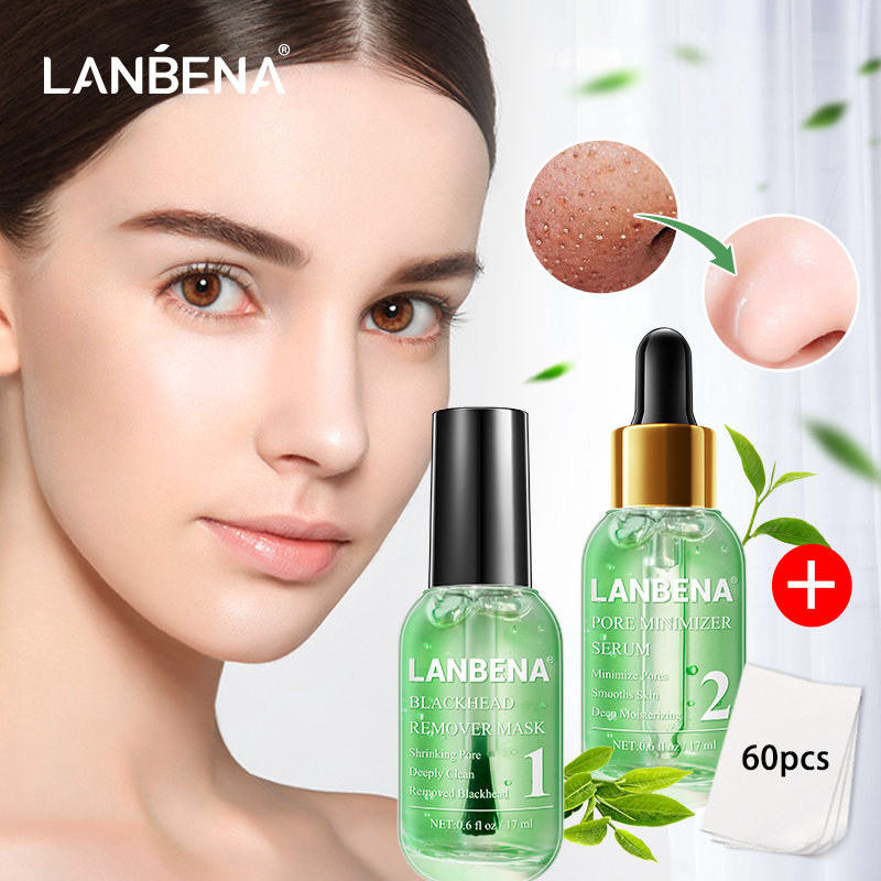 Lanbena Face Mask Blackhead Remover Serum New Style Quick Drying