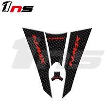 Karbon fiber reçine çıkartmaları motosiklet koruyucu Tank Pad Sticker için Fit YAMAHA NMAX N max N MAX 155 5D