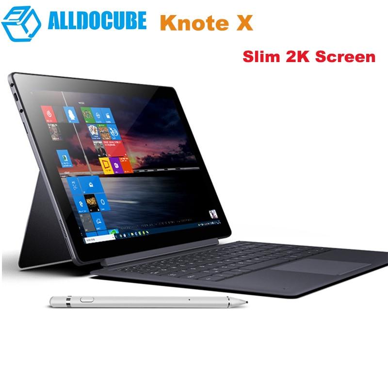 Original ALLDOCUBE KNote X 2-In-1 Tablet PC 13.3'' Windows 10 OS Intel Gemini Lake N4100 2.4GHz 8GB+128G Tablets With Keyboard