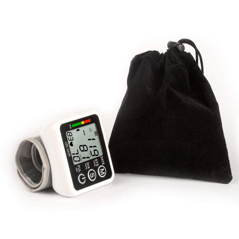 Image 5 - English Voice Digital Cuff Wrist Blood Pressure Monitor 