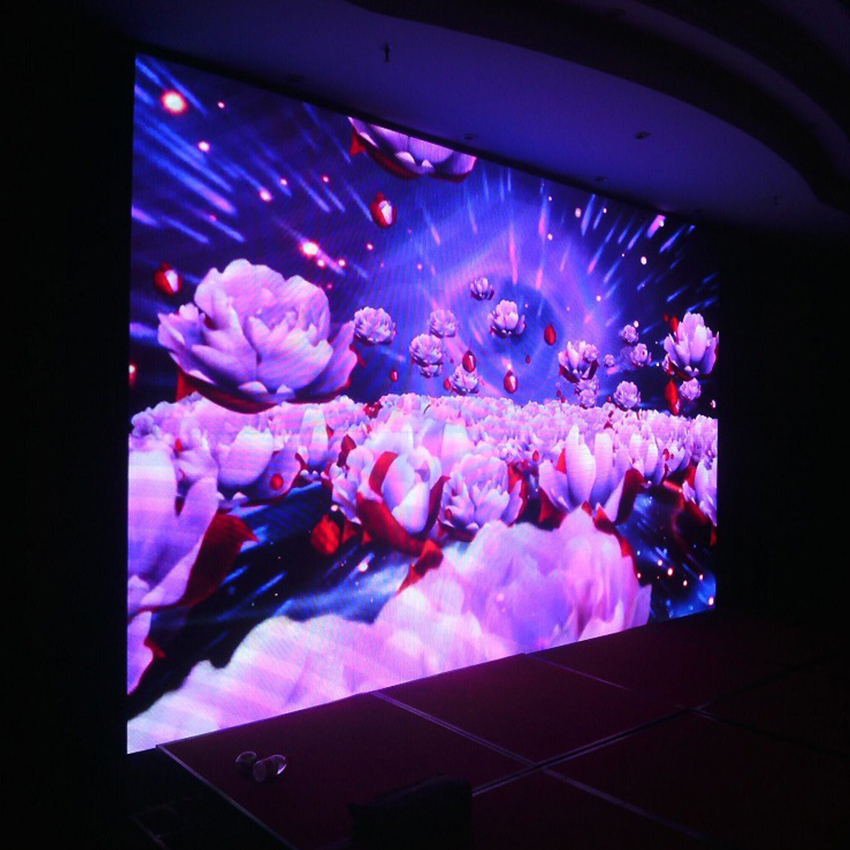 Stage indoor background led display p3.91 standing led screen panel
