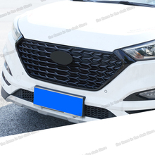 Lsrtw2017 Abs Car Front Grill Net Middle Net for Hyundai Tucson 2015 2016 2017 2018 lsrtw2017 abs car front grill decorative mark circle for trumpchi gs5 2012 2013 2014 2015 2016 2017 2018 2019 2020