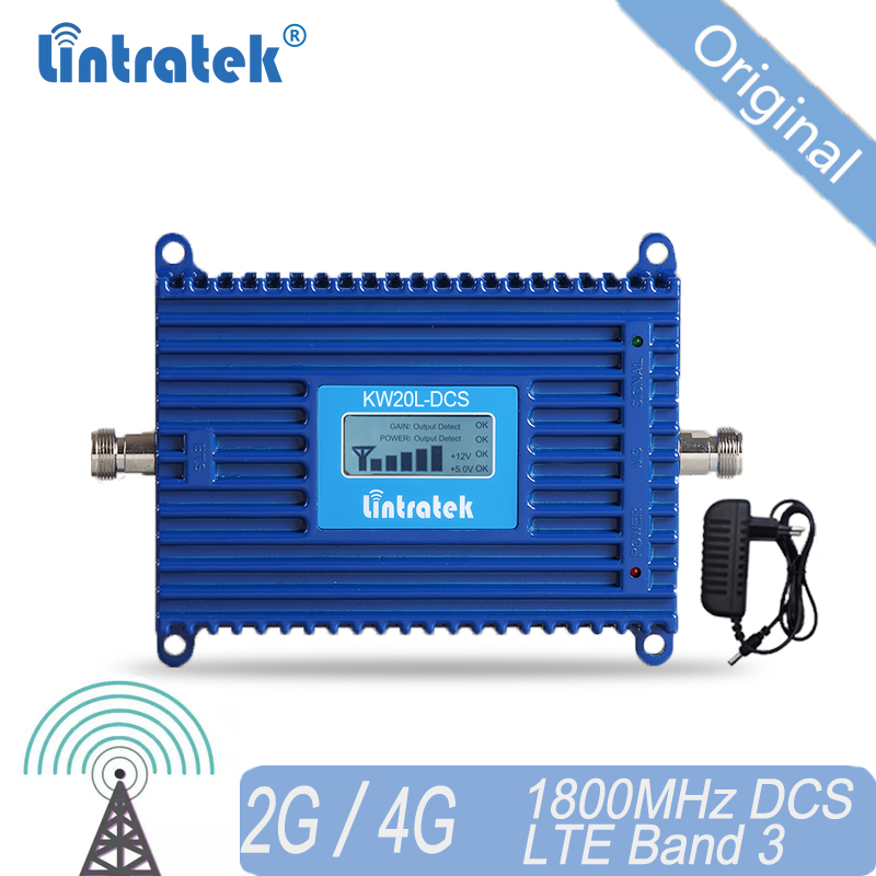 Lintratek 4G Signal Booster 1800 Repeater LTE Amplifier DCS Band 3 Mobile Signal Booster For 4G Russia Ukraine Asia Europe #20