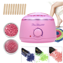 500Cc Mini Wax Warmer Heater Electric Hands Spa Hair Removal Depilatory Melting Wax Machine Pot Temperature Control