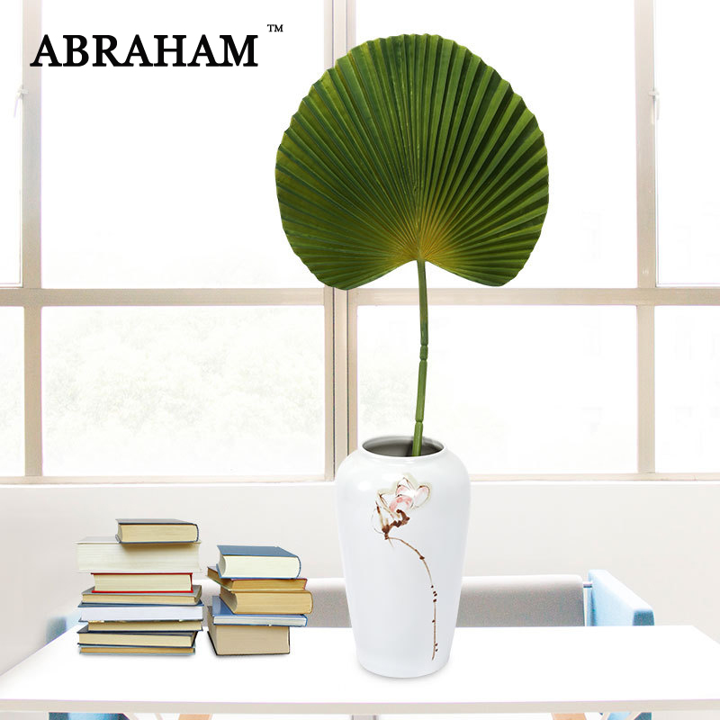 84cm Tropical Banana Leaves Big Artificial Palm Tree Fake Monstera Plants Branch Green Plastic Leaf For Wedding Home Party Decor
