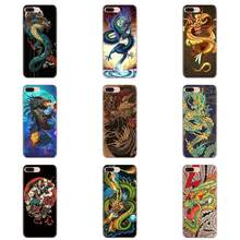 Soft TPU Shockproof Asian Chinese Dragon For Galaxy Alpha Note 10 Pro A10 A20 A20E A30 A40 A50 A60 A70 A80 A90 M10 M20 M30 M40(China)