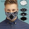Многоразовая 3D маска для рта, моющаяся Мужская защитная маска с фильтром PM2.5, Женская Пылезащитная маска для лица, Ветрозащитная маска для р...