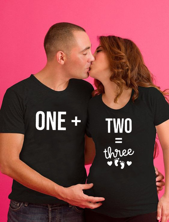 Mommy Daddy Matching Pregnancy Shirts Pregnancy Announcement Shirt Couples Baby Announcement Shirts for Couples Pregnant T-shirt