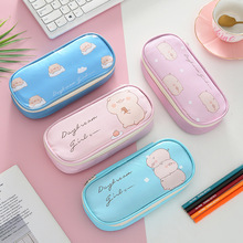Multi-functional stationery bag PU pencil student