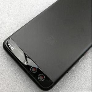 Image 5 - Original HUAWEI P10 Zurück Gehäuse P10 Batterie Abdeckung Fall + Seite Tasten + Kamera Glas Objektiv VTR AL00 VTR L09 VTR L29