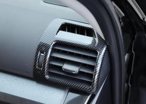 Image 4 - Center Konsole Klimaanlage Vent Dekoration Links Ringht für Toyota 4 Runner 2010 2020 Auto Innen Zubehör Rot Aufkleber