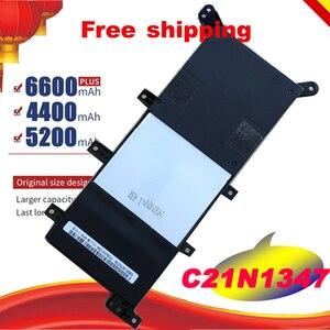 Preço especial Da Bateria Do Portátil Para ASUS X554L X555L X555LB X555LN X555 X555LD X555LP F555A F555U W519L F555UA VM C21N1347 Frete