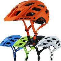 Capacete de ciclismo in-mold para mountain bike  capacete de segurança ultraleve com cobertura eps + pc profissional para esportes ao ar livre tampa com gorro