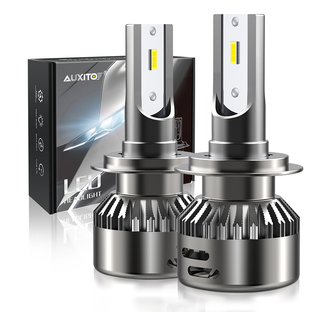 AUXITO 2x H11 H7 Led Canbus 9005 9006 HB3 HB4 LED Car Headlight Bulb For BMW E46 E39 E90 E60 E36 F30 F10 E30 E34 X5 E53 F20 X6 image