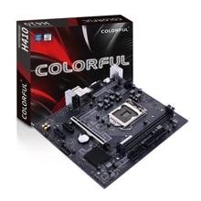COLORFUL H410M-K PRO V20 DDR4 Dual Channel 2400/2133MHz 64G SATA3.0 6Gb/s For Intel LGA1200 Interface Processor