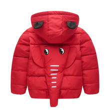 Infant Clothes autumn/Winter Baby Boys Girls Childrens Jacket Hooded elephant Children Tops Outwear Kids Cute