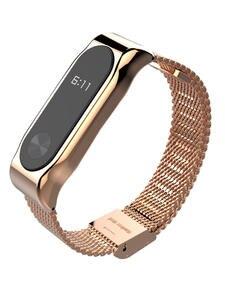 Bracelet Wristband Watch Metal-Wrist-Strap Smart-Accessories Stainless-Steel Xiaomi 2