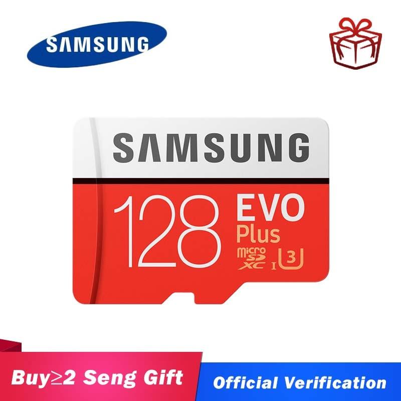 SAMSUNG micro sd 128gb EVO Plus de tarjeta de memoria 512G de tarjeta microsd a tarjeta sd 32G 64G Class10 U3 cartao de memoria de 256GB tf tarjeta de memoria para gopro