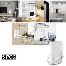 5 PCS Clear Acrylic Wall Mount Sturdy Bracket For Netgear Orbi  WiFi Router For Orbi RBS40, RBK40, RBS50, RBK50, AC2200, AC3000