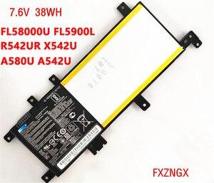 38Wh nuevo C21N1634 batería para Asus Vivobook X542U R542UR A542U A580U X/R542U V587U FL8000U