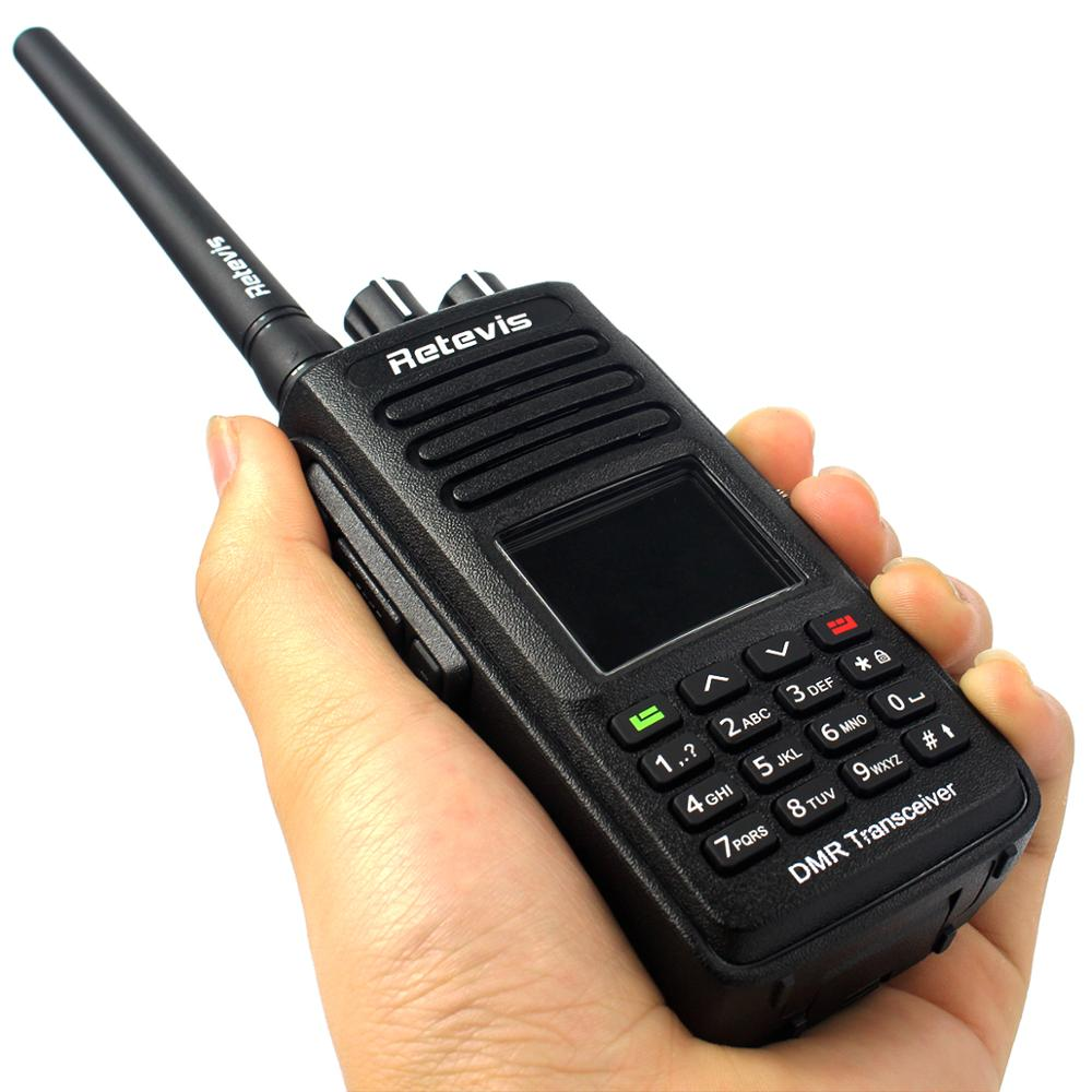 Retevis RT8 DMR Digital Radio (GPS) Walkie Talkie 5W 1000CH UHF (or VHF) IP67 Waterproof Dustproof Ham Radio Transceiver+Cable