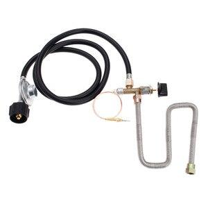 1 шт. подключение QCC1 низкого давления для пропановых огнеупорных газов контрольный клапан система регулятора клапан комплект с шлангом 3 фу...