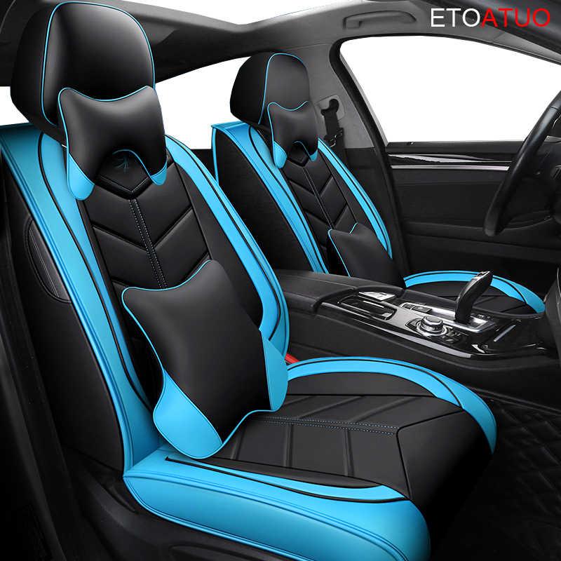 Couverture complète eco-cuir auto sièges couvre siège auto en cuir synthétique polyuréthane housses pour zotye t600 coupa z300 Ravon ravon r2 ravon gentra r4