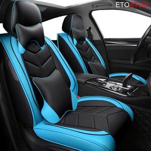 Image 5 - Full Coverage Eco leather auto seats covers PU Leather Car Seat Covers forlada ellada granta kalina largus xray ladasamara ladac