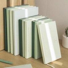 Sharkbang série simples vintage 80 folhas caderno diários bala agenda planejador 80 folhas linha em branco estilo papelaria escolar