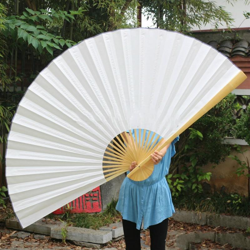 Artist DIY Decorative Paper Fan Oversized Wall Mount Blank Xuan Paper Decoration Fan Large Living Room Decorative Furnishings