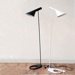 Nordic aj lâmpada de assoalho arne jacobsen conduziu a lâmpada mesa moderna sala estar quarto estudo suporte luminária decoração para casa
