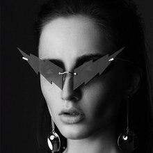 2020 модные забавные солнцезащитные очки кошачий глаз цветные