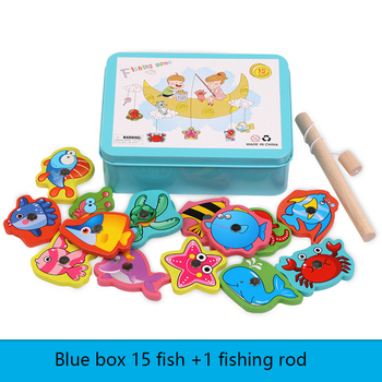 Baby Educational Toys Fishing Game Set Marine Biological Congnition Magnetic Toys Set Outdoor Fun Kids Gifts shark bite game funny toys desktop fishing toys kids family interactive toys board game