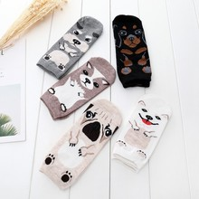 10pair/lot Spring Autumn Cotton Women Socks Fashion Breathable Gilr Ankle