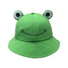 Лягушка детский головной убор кепка бейсболка для рыбалки Пикник