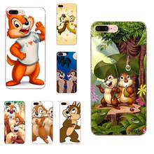 Soft Art Print For Galaxy J1 J2 J3 J330 J4 J5 J6 J7 J730 J8 2015 2016 2017 2018 mini Pro Chip 'n' Dale Chipmunks(China)