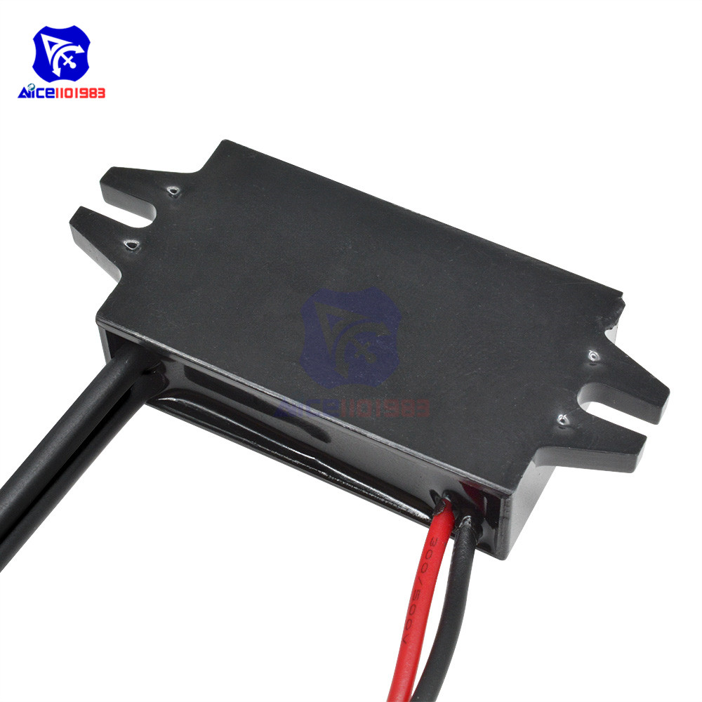 Image 5 - diymore DC DC 12V to 5V 3A 15W Buck Converter Step Down Power Supply Module Dual Female USB Output Adapter for Car-in Integrated Circuits from Electronic Components & Supplies